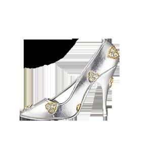 精美水晶鞋