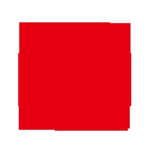 红色方块图案背景