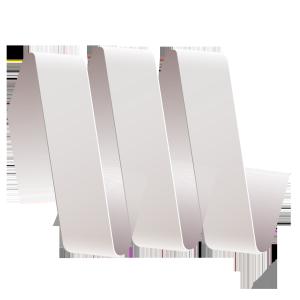 白色丝带标题栏