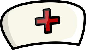 卡通护士帽