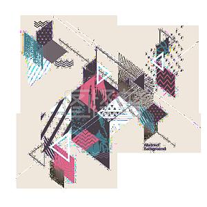 几何碎片素材