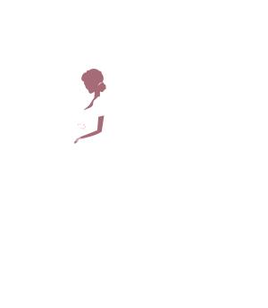 矢量白色卡通婚礼新娘