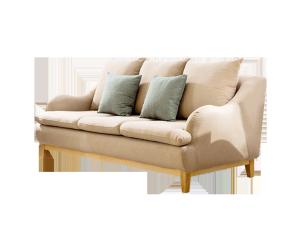 北欧风三人沙发素材