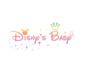 迪士尼宝贝英文艺术字