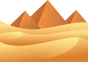 沙漠金字塔