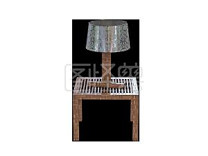 精美桌子台灯素材