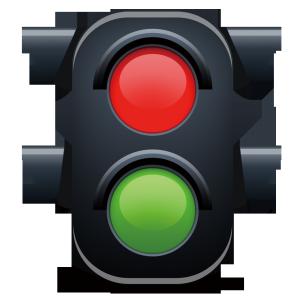 安全行车交通安全宣传红绿灯