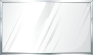 灰白色质感白板