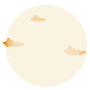 矢量图八月十五圆月