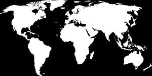 白色简约地图