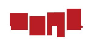 中国红北京印象毛笔艺术字设计图