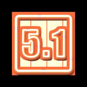 51劳动节荧光发光艺术字