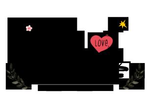 七夕情人节情侣爱情告白表白暖心情话我爱你到天荒地老卡通可爱艺术字