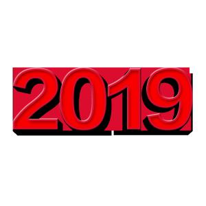 2019春节字体创意设计
