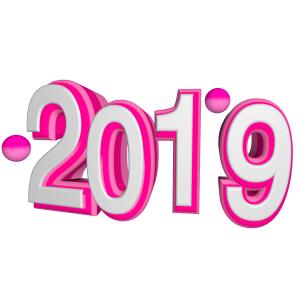 2019艺术字立体3D