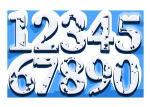 3d立体数字