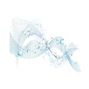 波纹 水花 淡蓝色