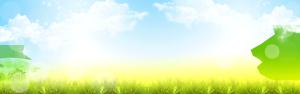 背景图案 蓝色 草地