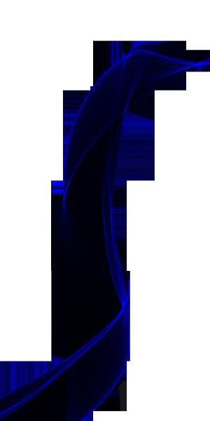 浅蓝色半透明飘逸丝带