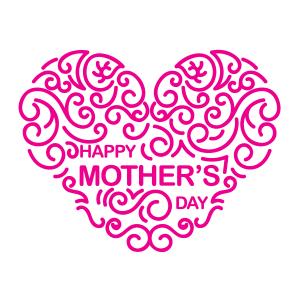 创意母亲节快乐矢量素材