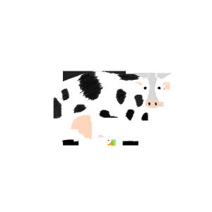 爱吃胡萝卜的小兔子与大奶牛