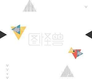 电商购物节姜黄色科技风边框背景线条电商免抠PSD