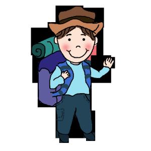 旅行一个人游玩背包帽子 出游