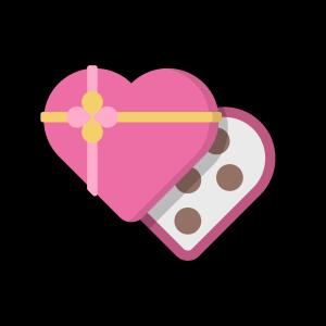 美味爱心巧克力免扣素材