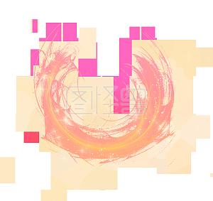 炫光光斑酷炫元素