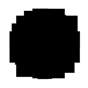 斑驳零零星星的圆形艺术品