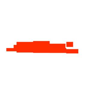 红色扭曲斑驳血痕