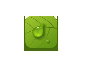 植树节绿色立体UI设计图标png