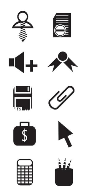 PPT商业化图标素材