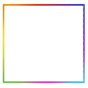 五彩边框PSD源文件