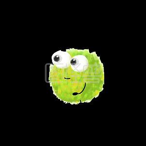 蒙的都对考试高考绿色毛球表情包