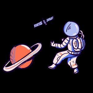 太空月球宇宙飞船