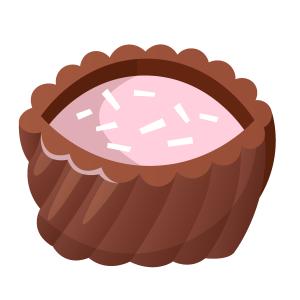 情人节夹心巧克力