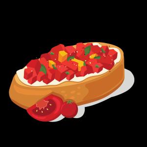 健康低卡番茄面包
