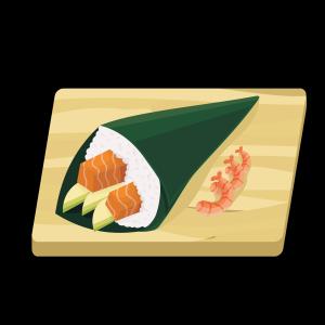 日式美食手卷寿司