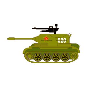 八一建军节中国坦克