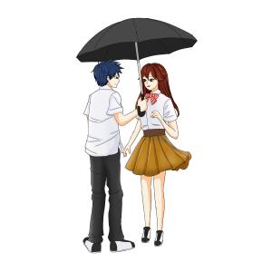 情人节浪漫白色情人节七夕表白求婚