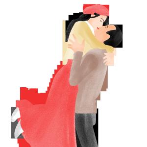 结婚亲吻情侣免费下载