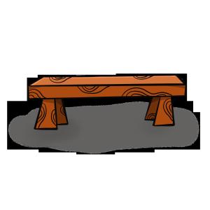 手绘卡通板凳下载