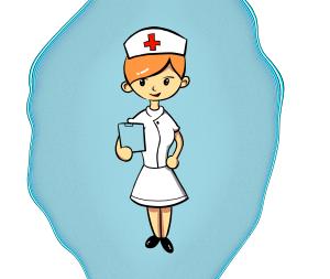 医疗小护士女护士红十字白衣天使免抠PNG