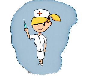 医疗小护士打针女护士红十字白衣天使免抠PNG