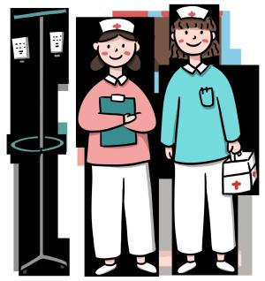 医疗护士白衣天使医疗设备