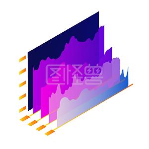 创意酷炫科技数据看板股市股票