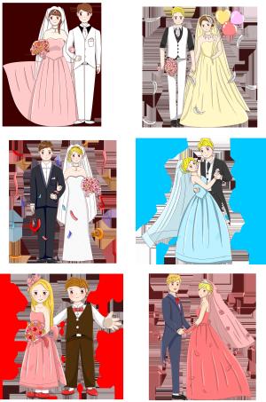 西式婚礼婚纱礼服合集