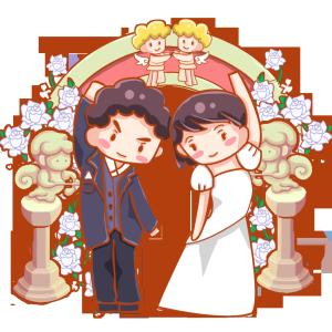婚礼西式婚礼婚纱可爱