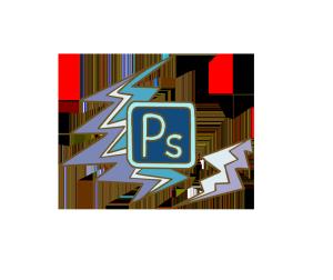设计主题扁平风格活泼元素之设计软件ps